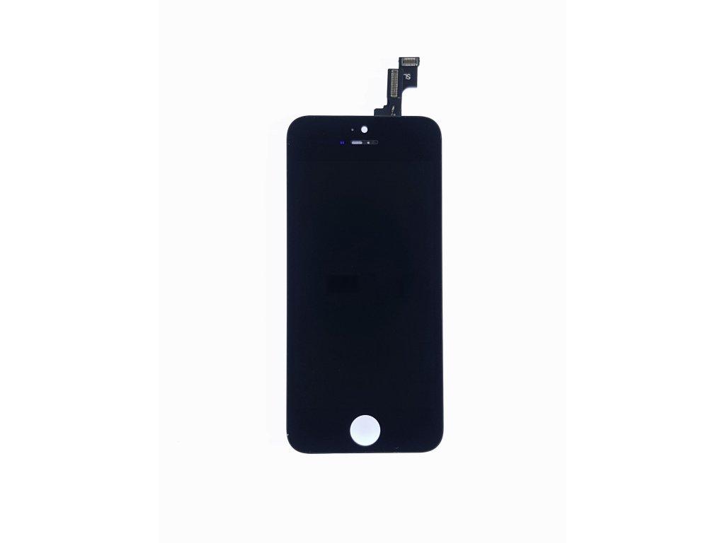 LCD panel + dotykové sklo (touch screen digitizér) pro  Iphone 5s Copy černý