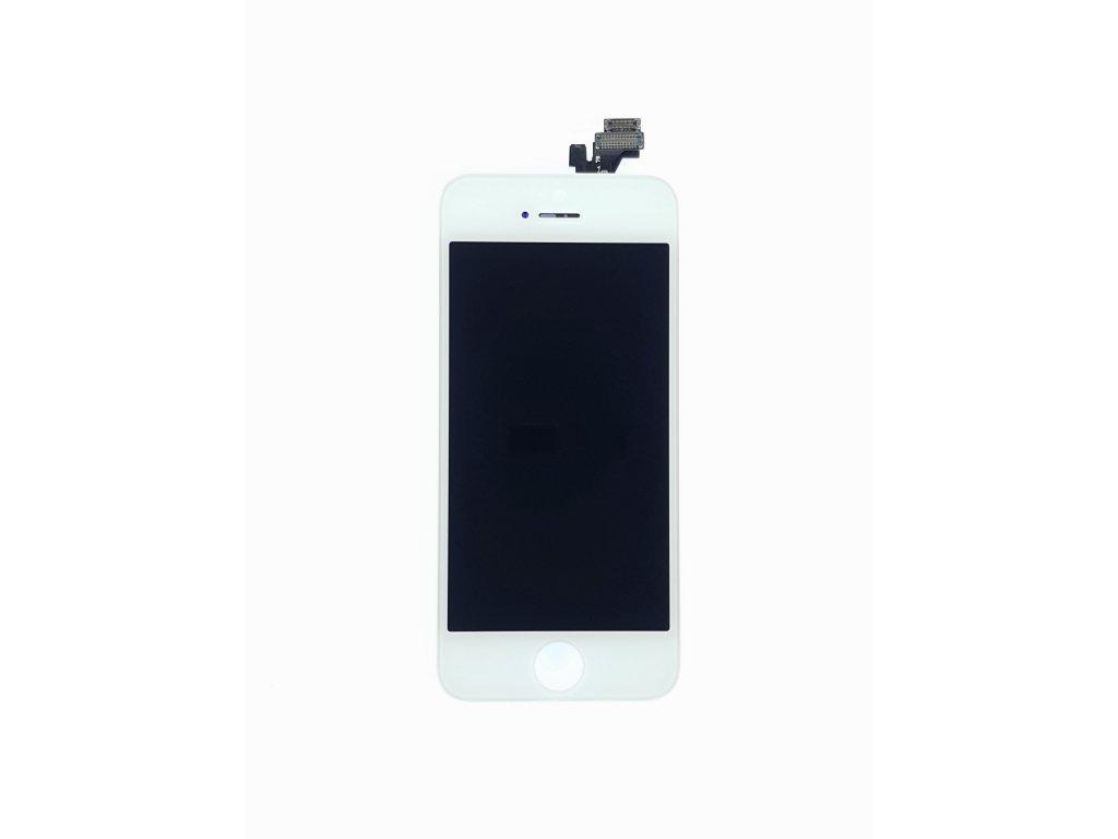 LCD panel + dotykové sklo (touch screen digitizér) pro  Iphone 5 OEM Bílý