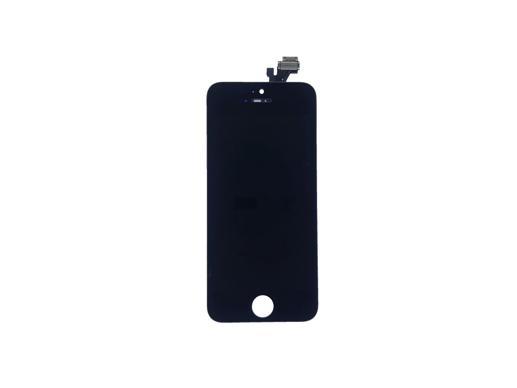 LCD panel + dotykové sklo (touch screen digitizér) pro  Iphone 5 OEM černý