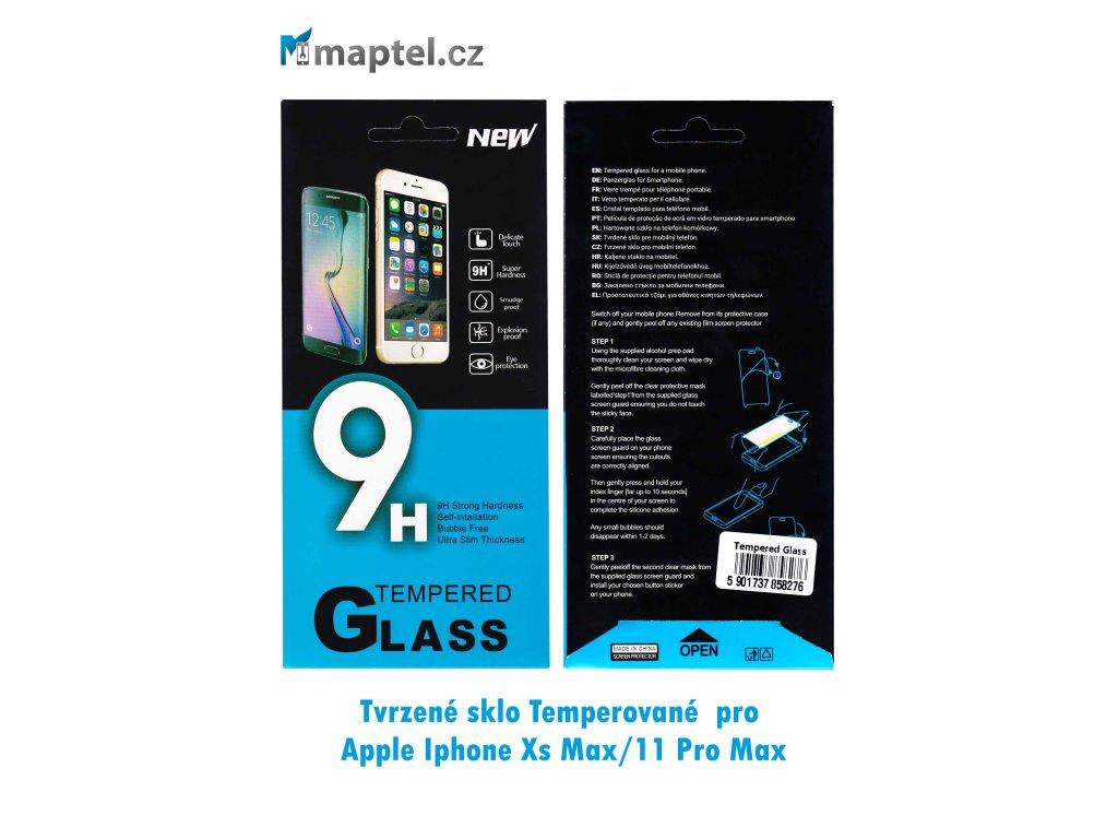 Tvrzené sklo pro Apple Iphone Xs Max/11 Pro Max