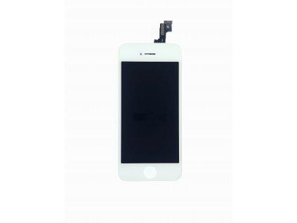 LCD panel + dotykové sklo (touch screen digitizér) pro  Iphone 5s Copy Bílý