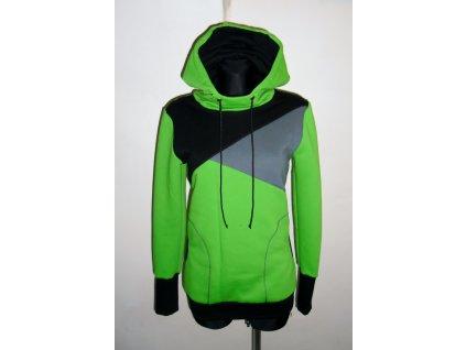 """Mikina pánská """"Alaska - green"""""""