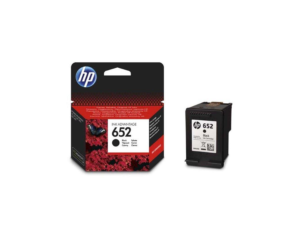 HP originální ink F6V25AE, No.652, black, 360str., HP Deskjet IA 4535, 4675, 1115, 2135, 3635, 3835