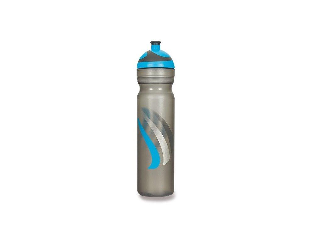 Zdravá lahev BIKE 2K19 modrá,zelená 1,0l