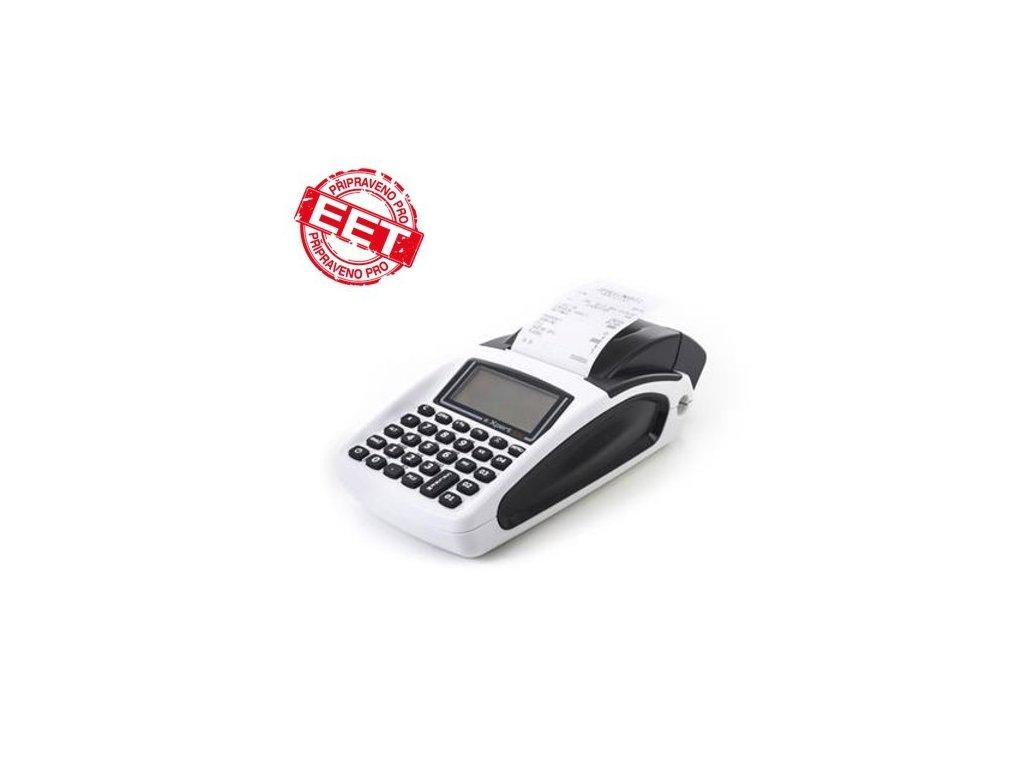 Registrační pokladna Daisy eXpert SX baterie, displej, GSM, VD