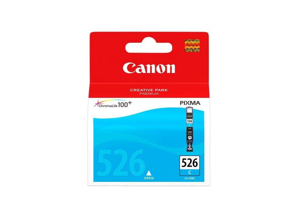 Canon originální ink CLI526C, cyan, 9ml, 4541B001, Canon Pixma MG5150, MG5250, MG6150, MG8150