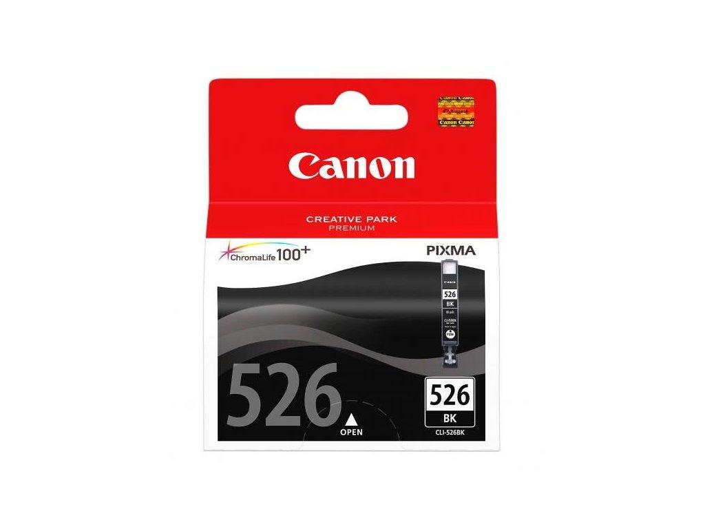 Canon originální ink CLI526BK, black, 9ml, 4540B001, Canon Pixma MG5150, MG5250, MG6150, MG8150