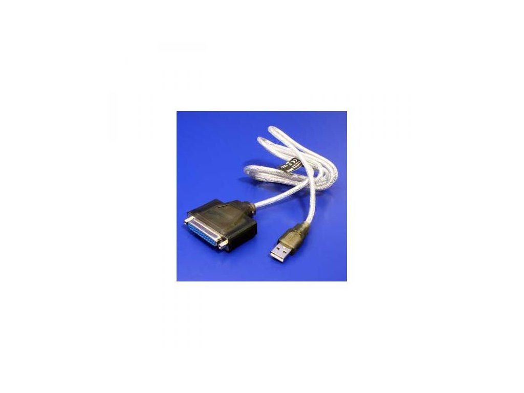 USB kabel (1.1), A-25pin, M/F, 1.5m, No Name, IEEE 1284