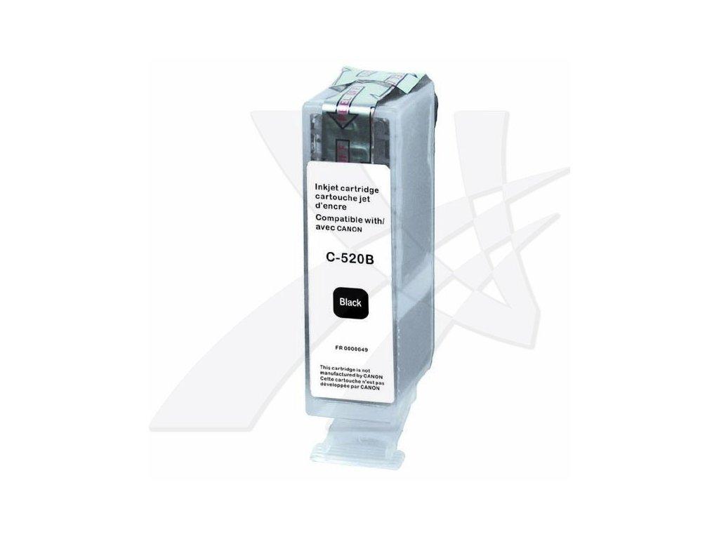 UPrint kompatibilní ink s PGI520BK, black