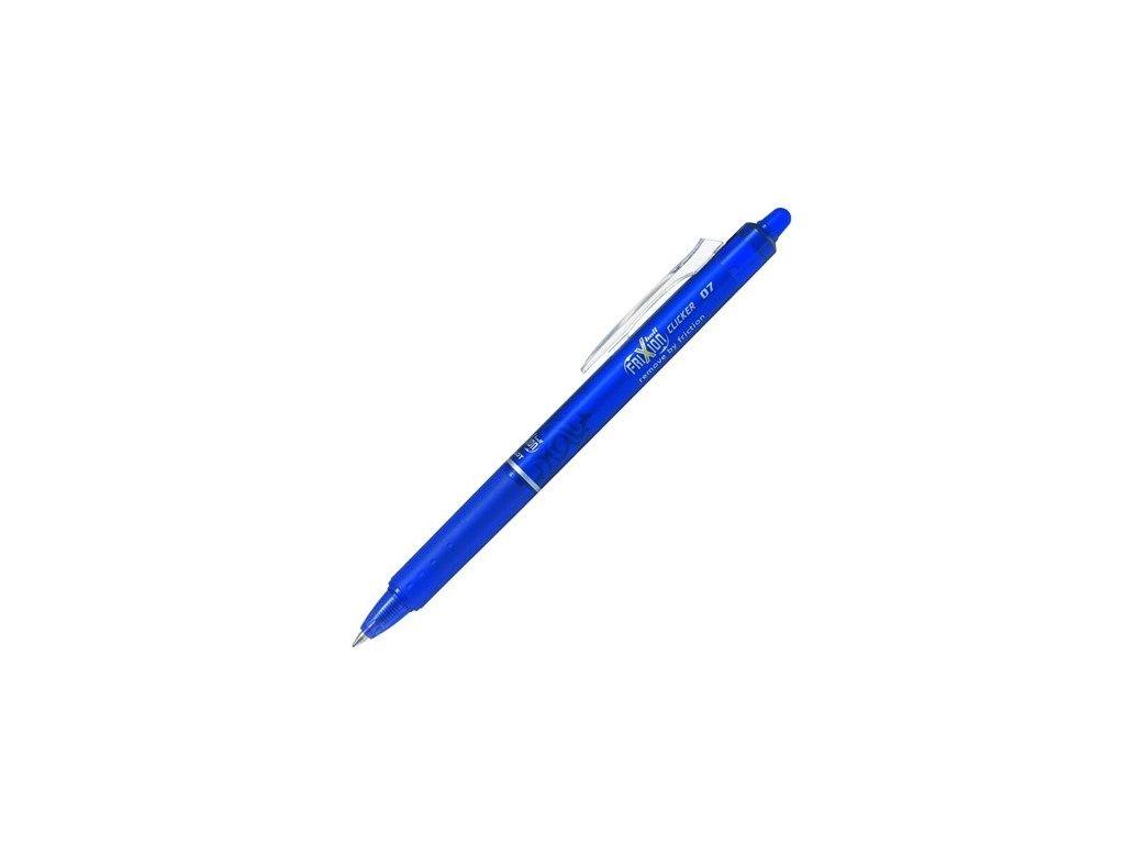 Pilot roller Frixion Clicker BLRT-FR7 07 modrý