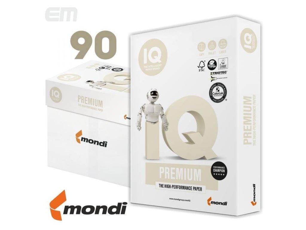 Papír xerografický A4 90g A+/IQ Premium