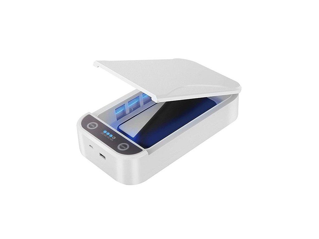 """UV sterilizátor Powerton, pro mobilní telefony a šperky, až 6,5, 10 W, bílá"""""""