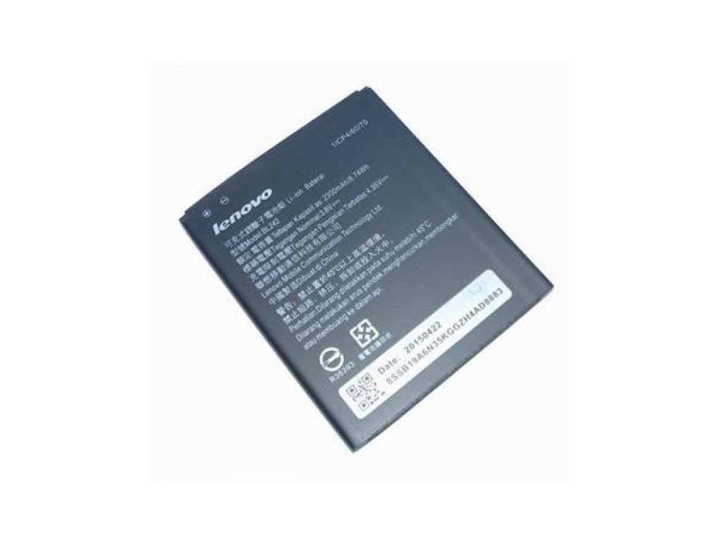 Baterie Lenovo BL242 (A6000), Li-ION 2300 mAh, bulk, originální