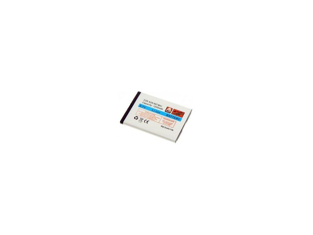 Baterie, Nokia N97 Mini/E5/N8 Li-ION 1200 mAh, nahrazuje BL-4D