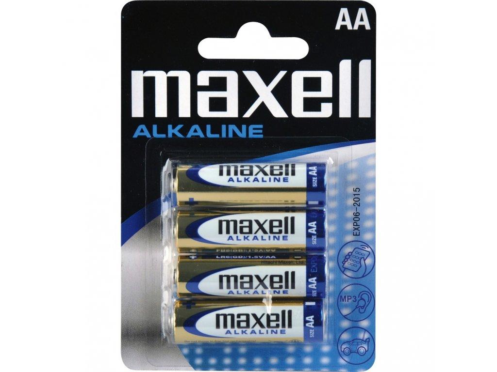 Baterie MAXELL LR6 4BP ALK 4x AA (R6)