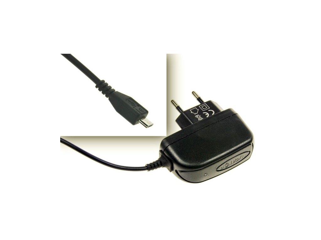 CD Micro USB 1A cestovní dobíječ