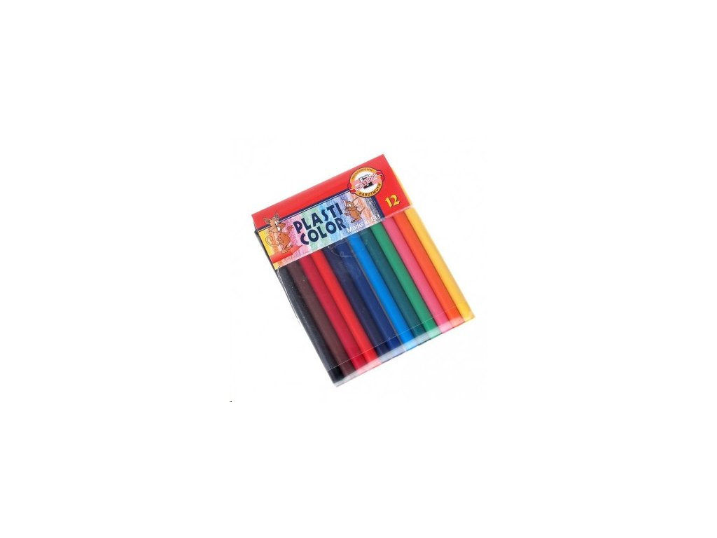 Pastelky 12 ks Plasticolor 8732