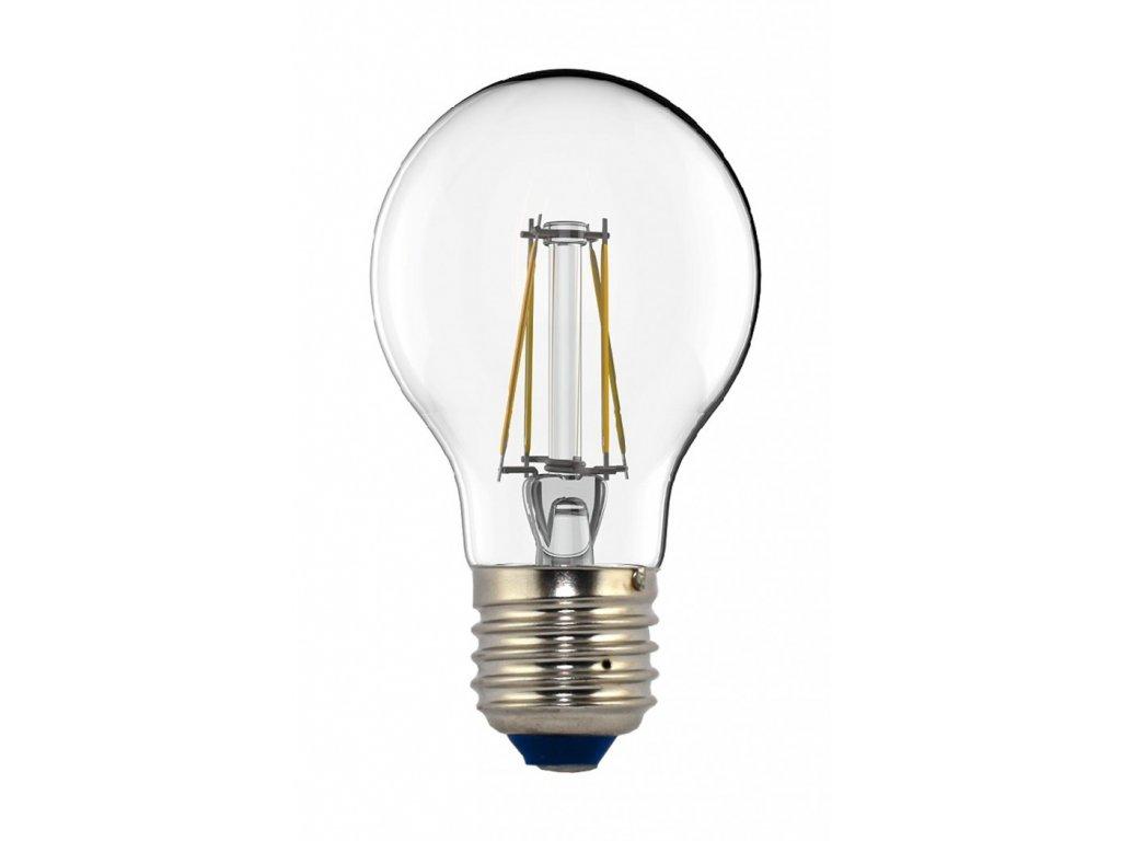 TESLA LED žárovka CRYSTAL RETRO BULB, E27, 4W, 230V, 440lm, 2700K teplá bílá, 360°,čirá