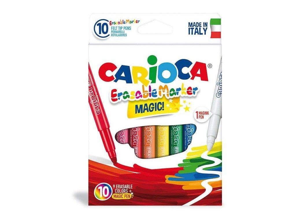 Fixy CARIOCA Erasable Marker 9+1 correct pen