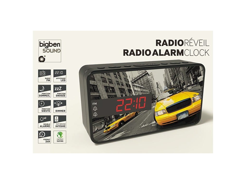 Radiobudík Bigben TAXI