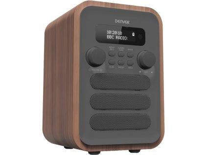 Denver DAB-48GREY - rádio DAB+/FM/Bluetooth