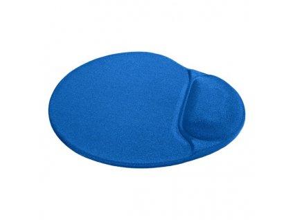 Podložka pod myš, polyuretan, modrá, 26x22.5cm, 5mm
