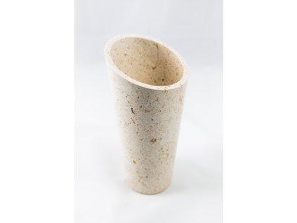 váza bílá