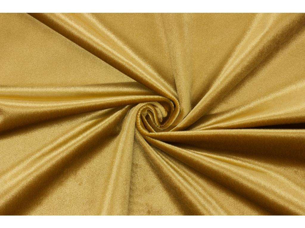 Samet velur - Zlatý