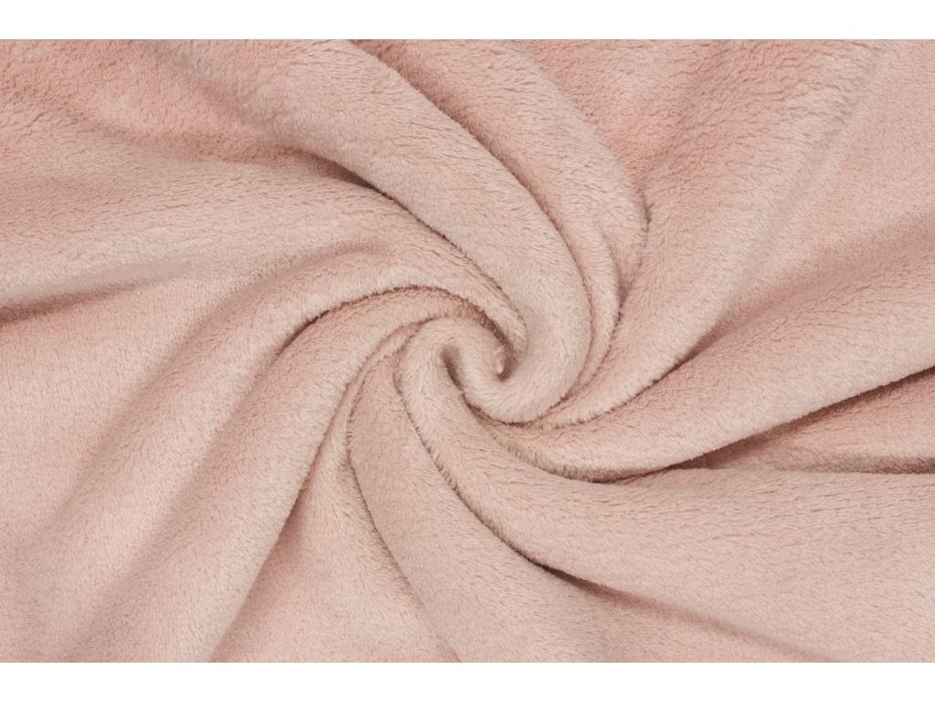 Coral fleece Soft - Starorůžový -  38d9568b248