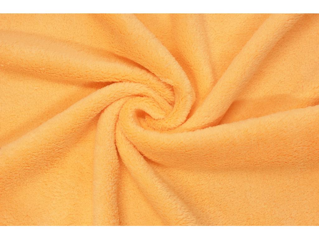 Coral fleece Soft - Zářivě oranžový -  cd04d7ad8aa
