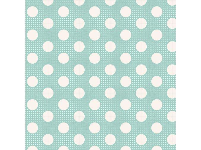130001 Medium Dots Teal