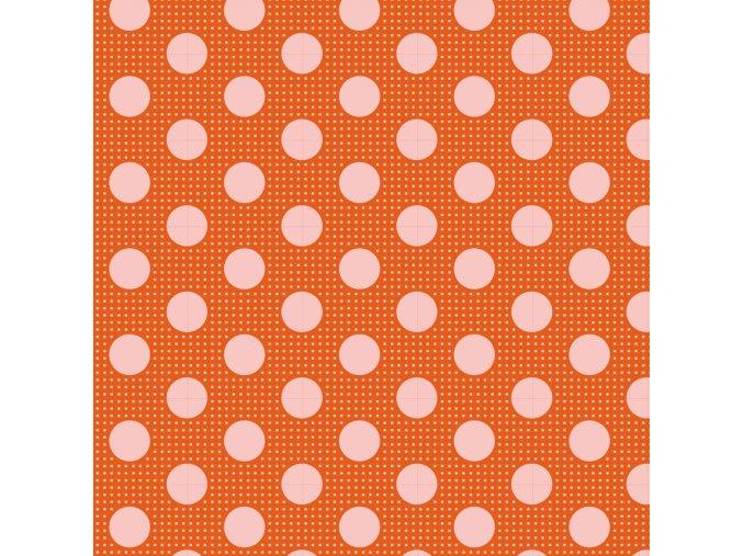130007 Medium Dots Ginger