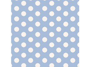 130002 Medium Dots Blue