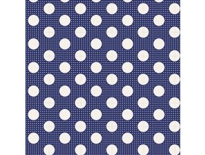 130026 Medium Dots Nigth Blue