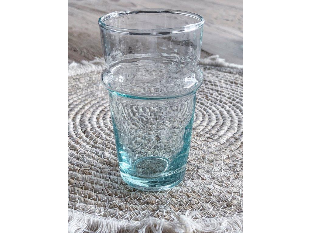 Sklenice z recykl.skla vel.L / PULA