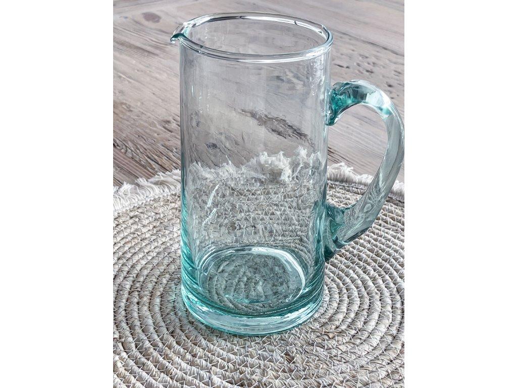Džbán z recyklovaného skla UMAG