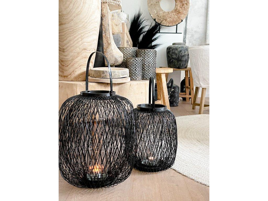 Laterna - bambus M-L