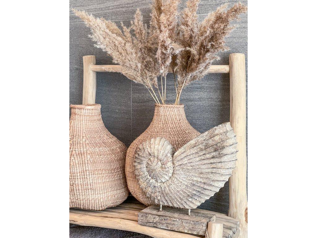 Škeble na stojanu - dřevo