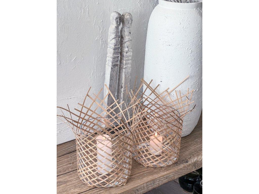 Svícen/ štípaný bambus