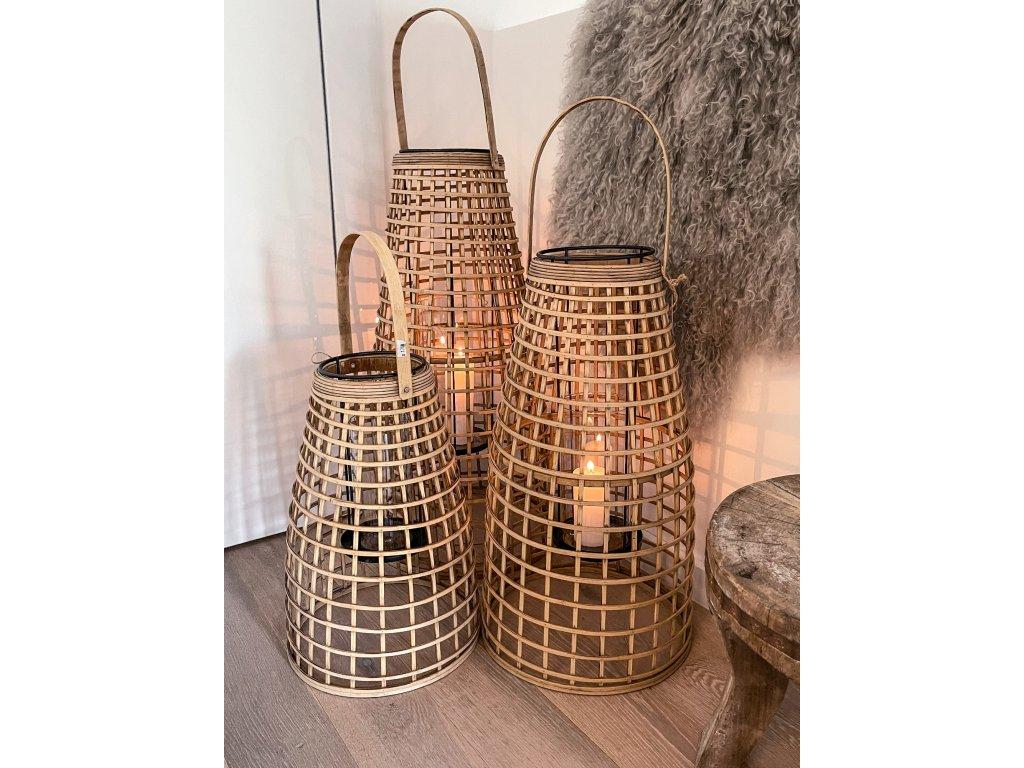 laterna bambus S-M-L