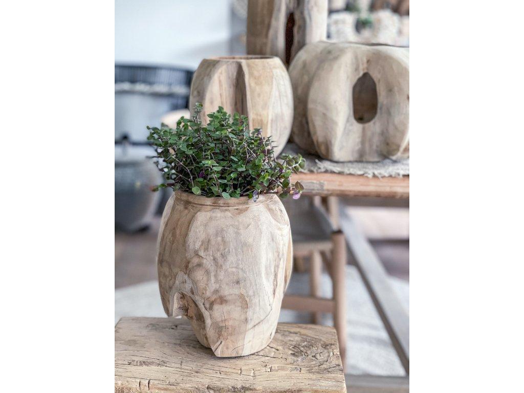 Teaková váza
