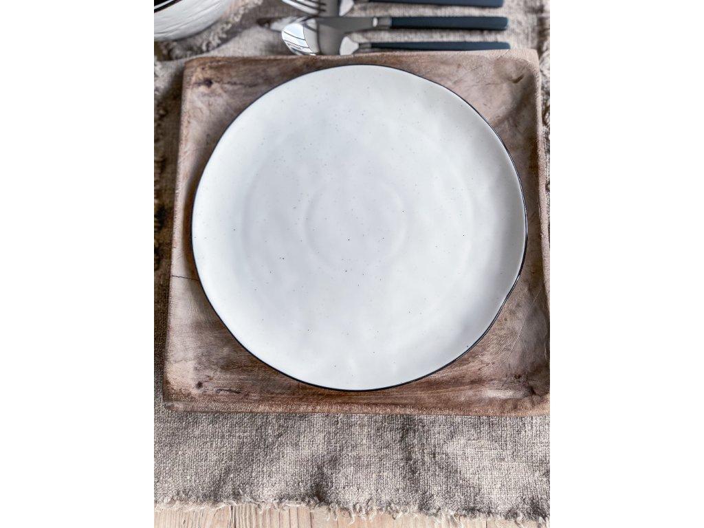 talíř na hlavní chod RIMO