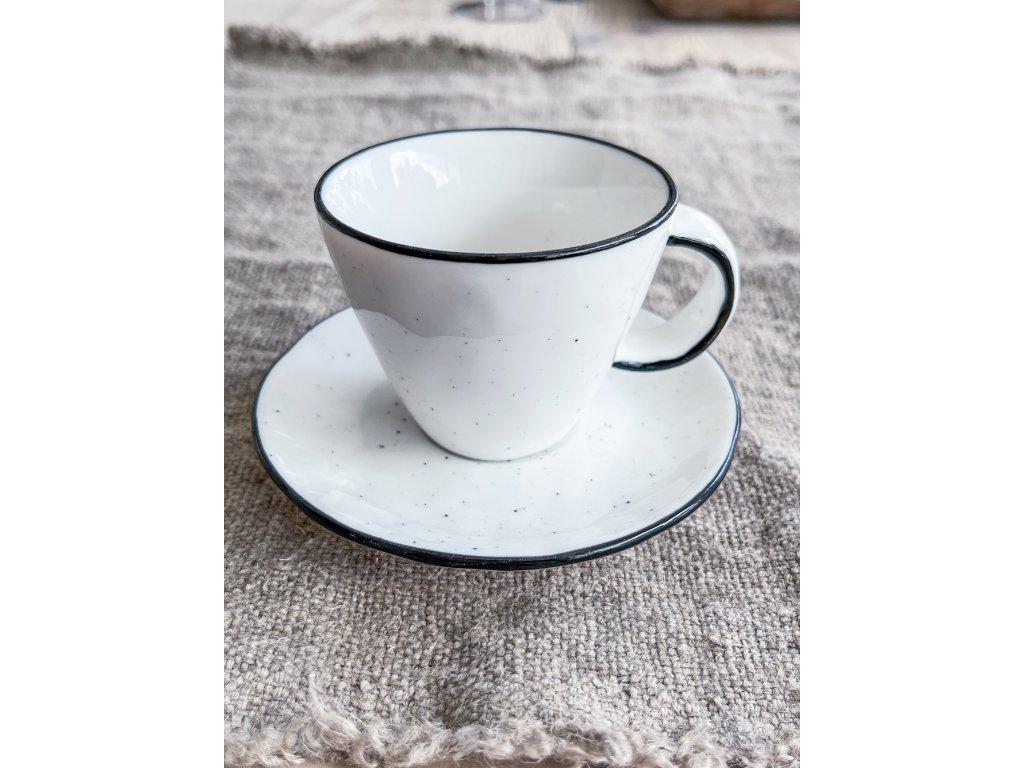 Hrnek na espresso s podšálkem RIMO