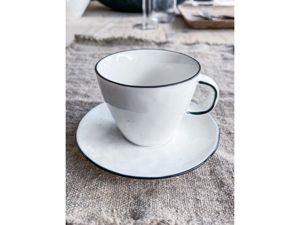 Hrnek na kávu s podšálkem RIMO
