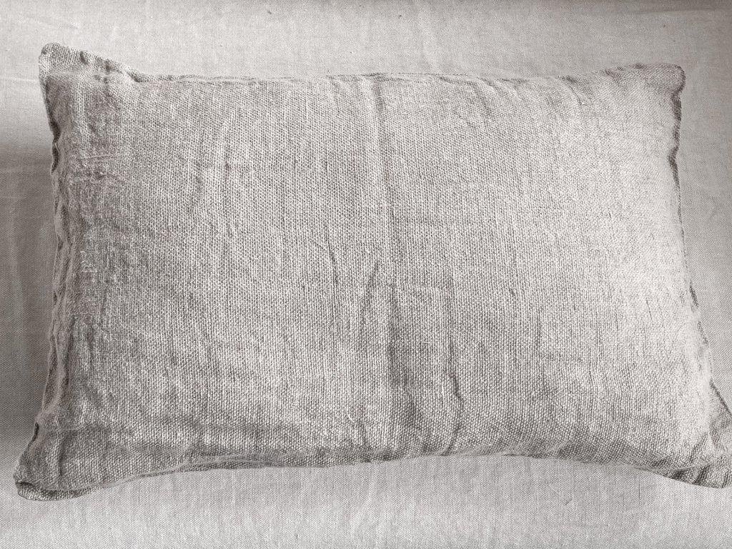 Lněný polštář
