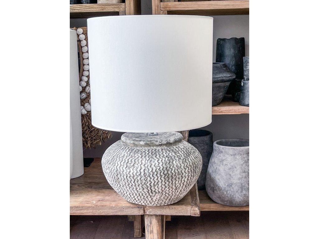 Lampa keramika vzor