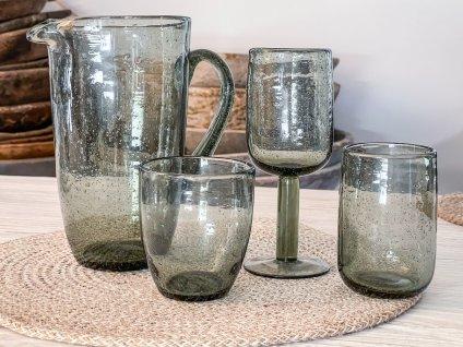 Sklenice na vodu/bubliny