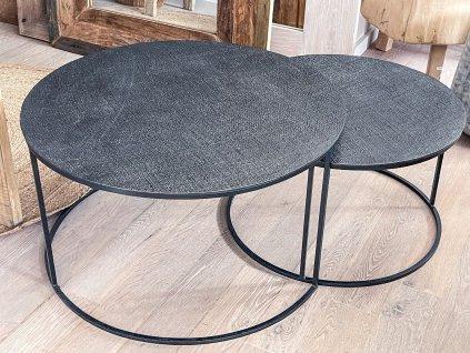 Konferenční stůl s hrubou strukturou/antracit