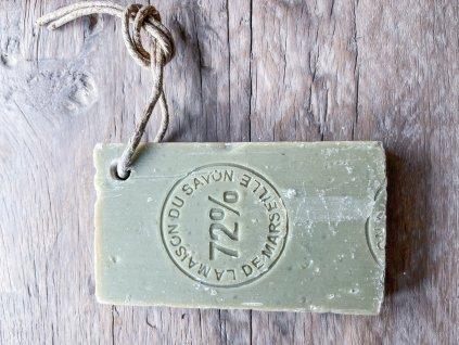 Natur mýdlo z Marsei -barva oliva