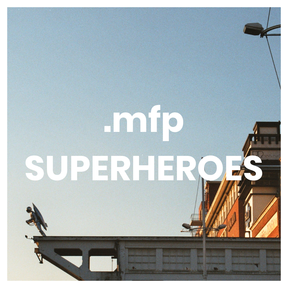 MFP SUPERHEROES  >> trika se skvělou pamětí <<